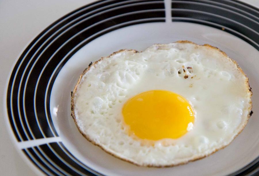 Receitas de ovo frito