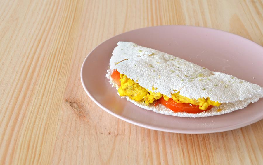 Receitas de tapioca com ovo